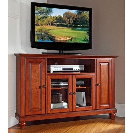 Crosley Furniture Kf10006dch Cambridge 48 Corner Tv Stand In