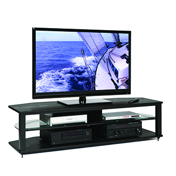 "Plateau CRX-2V(64) TV Stand up to 65"" TVs PLATEAU-CRX-2V-64"