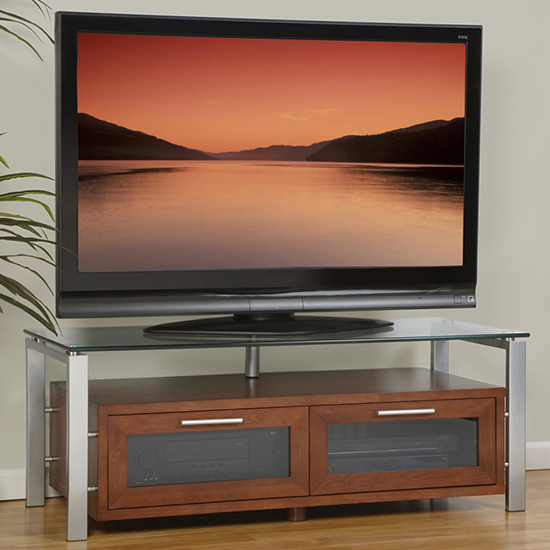 Plateau DECOR 50 W-S-BG TV Stand up to 55