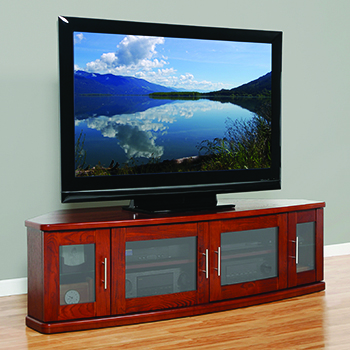 "Plateau Newport 62 TV Stand up to 65"" TVs. Plateau-Newport-62-W"