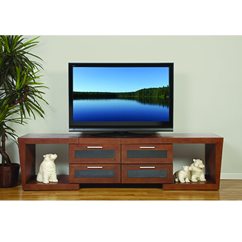 "Plateau Valencia 5187 TV Stand with range of 51""-87"" TVs. Plateau-Valencia-5187"