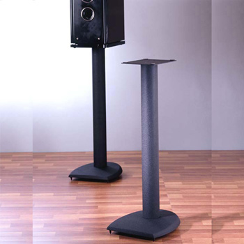 "VTI DF29 - 29"" Height Speaker Stands in Black color. VTI-DF29"
