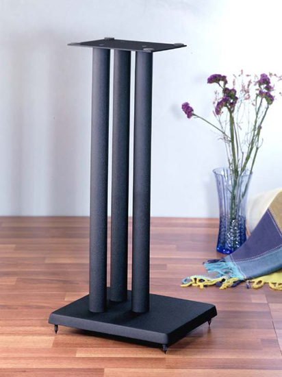 VTI RF Series Speaker Stand in Black color with iron cast base - Models: RF19; RF24; RF29; RF36.