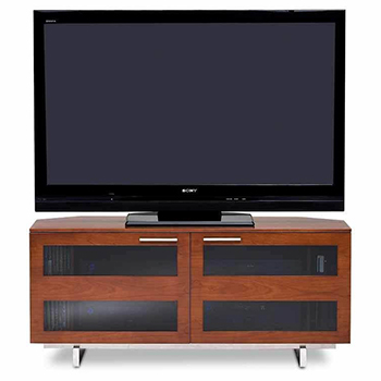 "BDI Avion 8925 TV Stand up to 60"" TVs In Natural Stained Cherry Color. BDI-Avion-Series-Cherry"