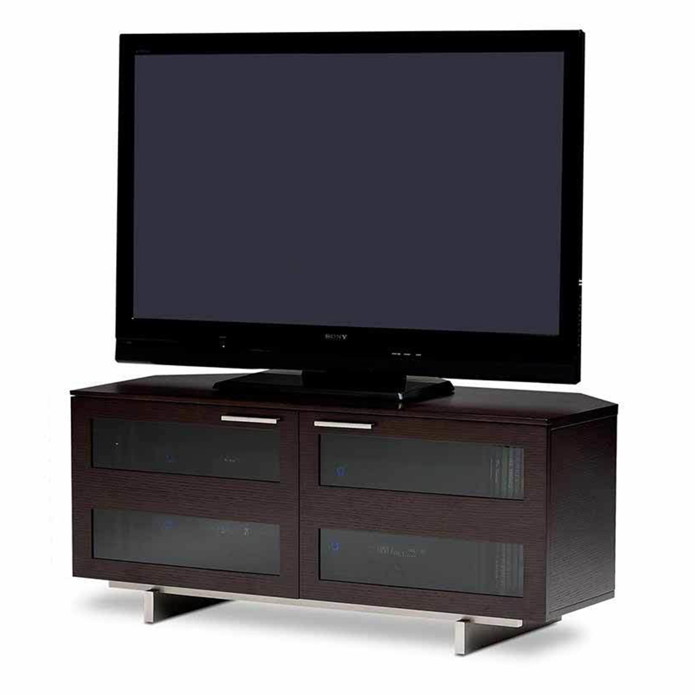 Bdi Avion 8925 Corner Tv Stand Up To 60 Quot Tvs In Espresso