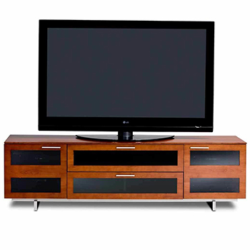 "BDI Avion 8929 TV Stand up to 82"" TVs Natural Stained Cherry Color. BDI-Avion-8929-Cherry"