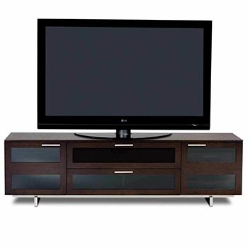 "BDI Avion 8929 TV Stand up to 82"" TVs Espresso Stained Oak Color. BDI-Avion-8929-Espresso"
