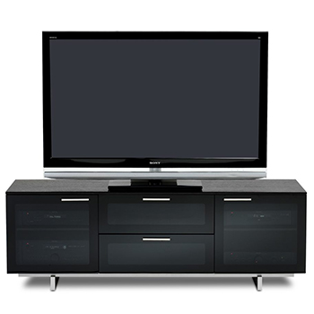 "BDI AVION NOIR Series II 8937 TV Stand up to 60"" TVs BDI-AVION-NOIR-Series-II-8937"