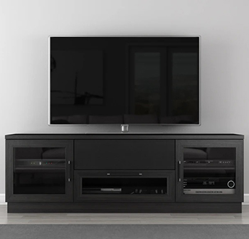 "Furnitech FT72CC-E TV Stand up to 70"" TVs. Furnitech-FT72CC-E"