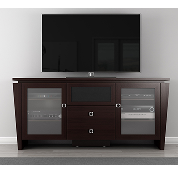 "Furnitech FT72TL TV Stand up to 72"" TVs. Furnitech-FT72TL"