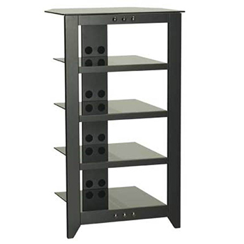 SANUS NFA245 - 5 Shelf Audio Video Tower Rack.