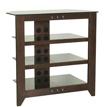 "Sanus NFAV230 - 30"" Tall 4 Shelf Audio Stand. SANUS-NFAV230"
