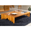 Furnitech CODE-CT Contemporary Rustic Coffee Table. Furnitech-CODE-CT