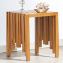 Furnitech CODE-ET Contemporary Rustic End Table. Furnitech-CODE-ET