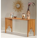 Furnitech CODE-ST Contemporary Rustic Console Table. Furnitech-CODE-ST