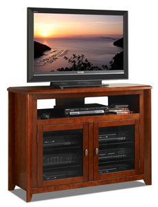 Tech Craft AWC5036 Walnut TV Stand up to 50