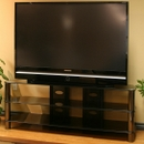 "Tech Craft BEL57B TV Stand for up to 58"" Flat Pannel TV's.   TECHCRAFT-BEL57B"