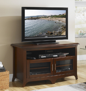 Tech Craft EOS4828 Walnut TV Stand up to 50