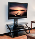 "Tech Craft FPD44B 44"" wide 3-Way TV Stand up to 50"" TVs. Tech-Craft-FPD44B"