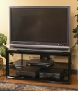 "Tech Craft MC4832B TV Stand for up to 48"" Flat Panel TVs. TECHCRAFT-MC4832B"