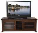 "Tech Craft PAL62 Walnut Credenza TV Stand up to 60"" TVs. Tech-Craft-PAL62"