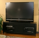 "Tech Craft SWBL60 TV Stand for up to 60"" Flat Panel TVs. TECHCRAFT-SWBL60"