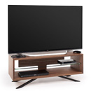 "Techlink Arena AA110W TV Stand up to 55"" TVs in Walnut finish."