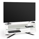 "Techlink Arena AA110WT TV Stand up to 55"" TVs in Brilliant White finish."