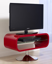 "Techlink Opod OP80R TV Stand up to 37"" TVs in High Gloss Red finish. Techlink-Opod-OP80R"