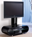 "Techlink Ovid 95TVB TV Stand up to 50"" TVs in Piano Black finish. Techlink-Ovid-95TVB"