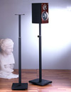 "VTI BLE101 Adjustable height(33.75"" - 59"") Speaker Stands. VTI-BLE101B"