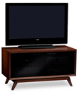 "BDI Eras 8354 TV Stand up to 46"" Flat Panel TVs in Chocolate color. BDI-Eras-8354"