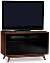 "BDI Eras 8358 TV Stand up to 55"" Flat Panel TVs in Chocolate color. BDI-Eras-8358"