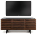 "BDI CORRIDOR 8177 TV Stand up to 70"" TVs in Chocolate Stained Walnut finish. BDICORRIDOR-8177-C"