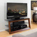 "Bello AVSC2151 TV Stand up to 55"" TVs in Caramel Finish. Bello-AVSC2151"
