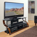 "Bello CW342 TV Stand up to 73"" TVs in Vibrant Expresso Finish. Bello-CW342"