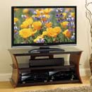 "Bello CW345 TV Stand up to 55"" TVs in Elegant Rich Caramel Finish. Bello-CW345"