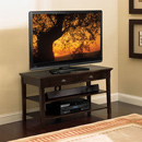 "Bello OA351 TV Stand up to 52"" TVs in Deep Espresso Finished Wood. Bello-OA351"