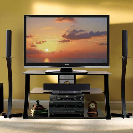 Bello PVS-4208HG TV Stand up to 46