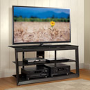 "Bello PVS4257 TV Stand in Dark Pewter Finish up to 55"" TVs. Bello-PVS4257"