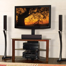 "Bello TP4501 TV Stand with Swivel TV Mounting up to 46"" TVs. Bello-TP4501"