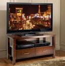 "Bello WAVS329 TV Stand in Espresso Finish up to 46"" TVs. Bello-WAVS329"