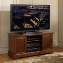 "Bello WAVS-334 TV Stand up to 55"" TVs in a European Mahogany Finish. Bello-WAVS-334"