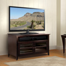 "Bello WAVS99144 Wood TV Stand in Dark Espresso Finish up to 46"" TVs. Bello-WAVS99144"