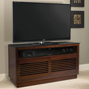 "Bello WMFC505 TV Stand up to 55"" TVs in Chocolate finish. Bello-WMFC505"
