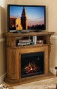 "Classic Flame CORINTH 23DE1447-O107 TV Stand with Electrical Fireplace up to 42"" TVs. ClassicFlame-23DE1447-O107"