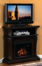 "Classic Flame CORINTH 23DE1447-W502 TV Stand with Electrical Fireplace up to 42"" TVs. ClassicFlame-23DE1447-W502"