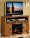 "Classic Flame SEDONA 23MM0925-O124 TV Stand with Electrical Fireplace up to 52"" TVs. ClassicFlame-23MM0925-O124"