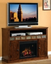 "Classic Flame SEDONA 23MM0925-O125 TV Stand with Electrical Fireplace up to 52"" TVs. ClassicFlame-23MM0925-O125"