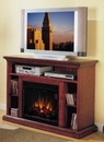 "Classic Flame Beverly 23MM374-C202 TV Stand  with Electrical Fireplace up to 48"" TVs. ClassicFlame-23MM374-C202"